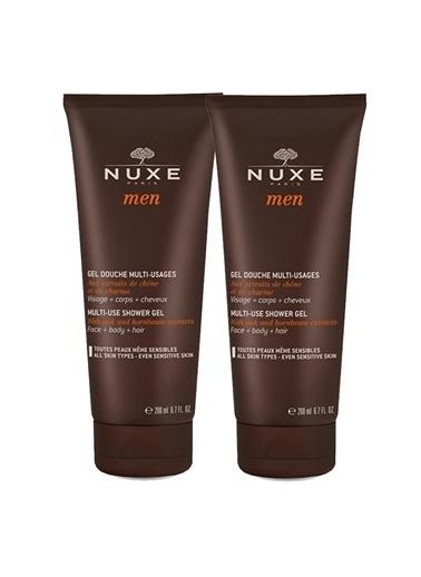 Nuxe Men Gel Douche Shower Gel 2x200 Ml Renksiz